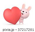 バレンタイン バレンタインデー ハートのイラスト 37217201