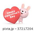 バレンタイン バレンタインデー ハートのイラスト 37217204