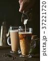 コーヒー ミルク 乳の写真 37221720