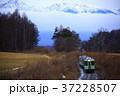 小海線 電車 八ヶ岳連峰の写真 37228507