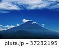 富士山 青空 雲の写真 37232195
