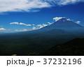富士山 青空 雲の写真 37232196