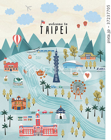 Lovely Taiwan travel concept 37237705