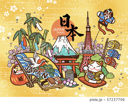 Lovely Japan travel concept 37237706