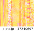 コラージュ 水彩 背景素材のイラスト 37240697