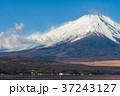 富士山 冠雪 山中湖の写真 37243127