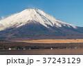 富士山 冠雪 山中湖の写真 37243129
