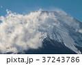 富士山 山頂 冬の写真 37243786