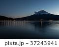 富士山 夕暮れ 河口湖の写真 37243941