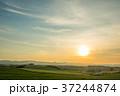 新栄の丘 北海道 夕日の写真 37244874