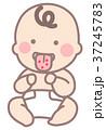 いちご舌の赤ちゃん 37245783