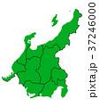 ベクター 地図 日本地図のイラスト 37246000