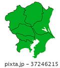 ベクター 地図 日本地図のイラスト 37246215