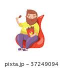 椅子 チェア いすのイラスト 37249094