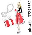 薔薇とギフトと冬服ガール 37252669