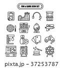 Fun and Game Line Design Icon Set 37253787