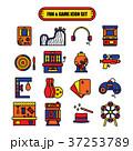 Fun and Game Icon Set 37253789