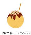 たこ焼き 和食 大阪名物のイラスト 37255079