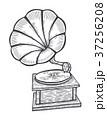 蓄音機 音楽 レトロのイラスト 37256208