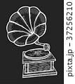 蓄音機 レトロ 写生のイラスト 37256210