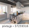 キッチン 厨房 台所のイラスト 37259316