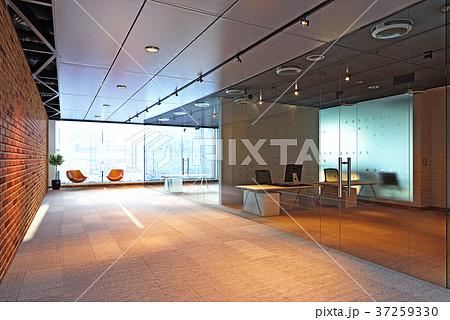 modern office building interior. 37259330