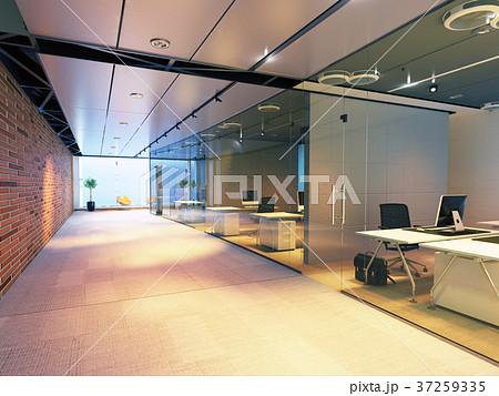 modern office building interior. 37259335