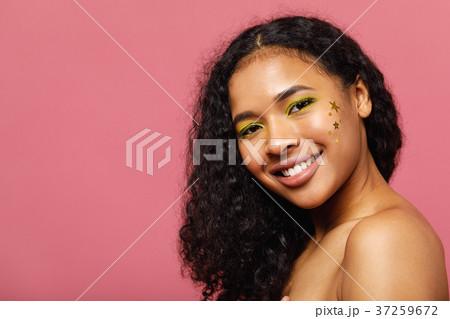 Young beautiful woman with fashion make up  37259672