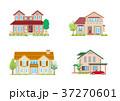 家 一戸建て 一軒家のイラスト 37270601