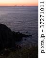 龍飛岬 風景 夕焼けの写真 37271011