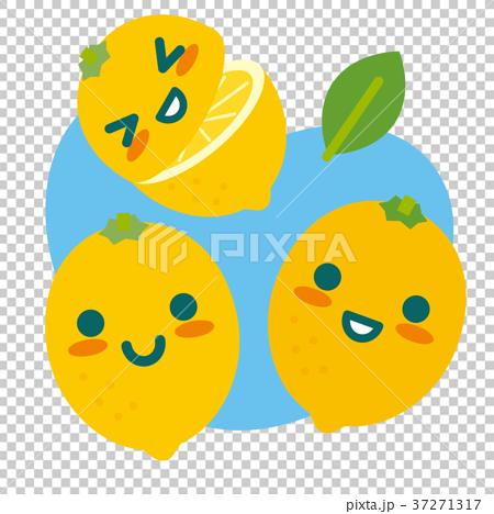 レモンの親子(空色) 37271317