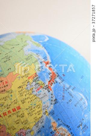 地球儀の中の日本 37271857