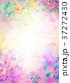 コラージュ 水彩 背景素材のイラスト 37272430