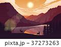 山 景色 風景のイラスト 37273263