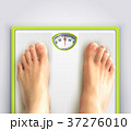 Woman Weight Loss Illustration 37276010