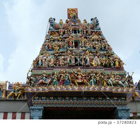 スリ・マリアマン寺院ゴプラム シンガポール 37280823