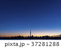 風景 空 夕焼けの写真 37281288