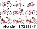 いろいろな種類の自転車のセット 37286845