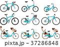いろいろな種類の自転車のセット 37286848