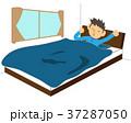 寝起き(男性)  37287050
