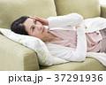 女性 体調不良 ミドルの写真 37291936