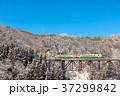 只見線 列車 鉄道の写真 37299842