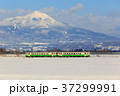 只見線 列車 冬の写真 37299991