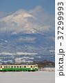 只見線 列車 冬の写真 37299993