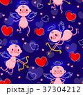バレンタイン ハート ハートマークのイラスト 37304212