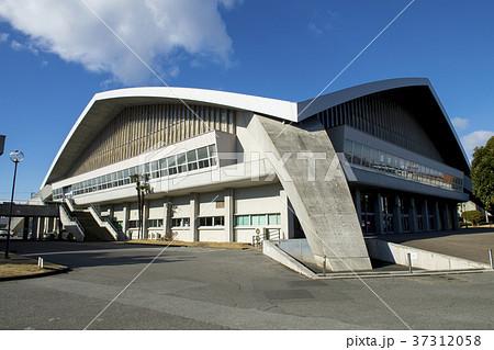 栃木県体育館の写真素材 [373120...