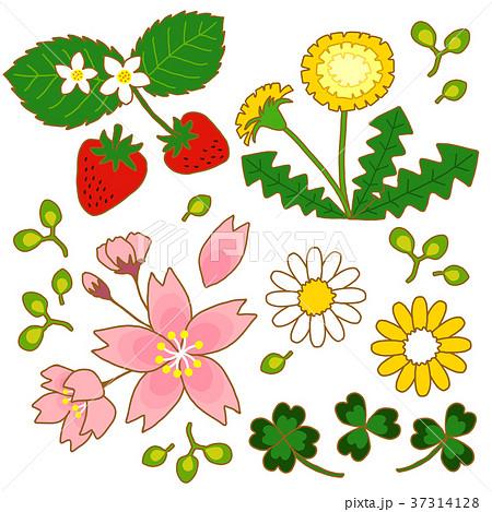 春イラストのイラスト素材 37314128 Pixta