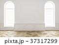 インテリア 白 空いているのイラスト 37317299
