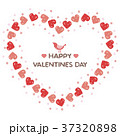バレンタイン バレンタインデー ハートのイラスト 37320898