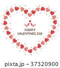 バレンタイン バレンタインデー ハートのイラスト 37320900